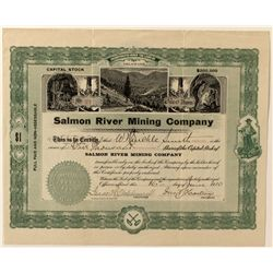 Salmon River Mining Co. Stock Certificate