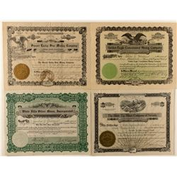 Four Rare Goldfield Stocks