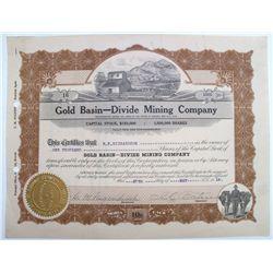 Gold Basin-Divide Mining Company