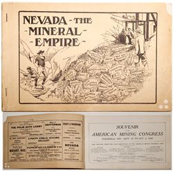 Nevada: The Mineral Empire, Souvenir Booklet, 1909