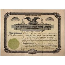 Mining Swindle stock certificate