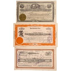 Incorporated under the laws of the Territory of Arizona. No. 248 issued to Warner Miller for 5,000 s