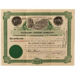 Palisade Copper Co. Stock Certificate