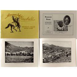 Souvenir Views of Rawhide, Nevada by Johnson, Reprint