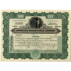 Lampazos Silver Mining Certificate