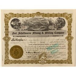 Fort Schellbourne Mining & Milling Co. Stock Certificate