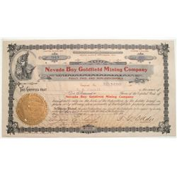 Nevada Boy Goldfield Mining Company with Tasker Oddie signature