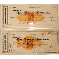 Two Different Occidental Mill w/ Fair signature