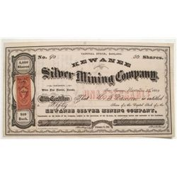 Kewanee Silver Mining Company stock