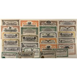 Mining Stock Certificate Group