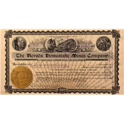 Nevada Homestake Mines Company Stock