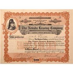 Nevada Leasing Company Stock