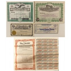 Nevada Prospectus & Stock Certificates Group