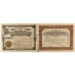 Nevada Stock Certificates Pair