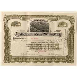 Nevada treasure Mining Stock