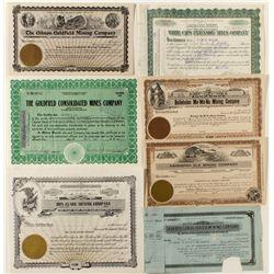 Seven Different Nevada Mining Stocks
