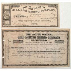 Van de Water Gold & Silver Mining Company