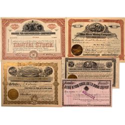 Oregon Mining Stock Certificates