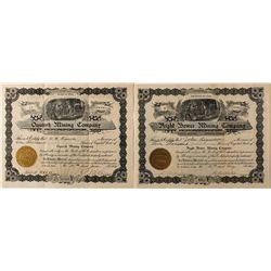 Similar Utah Mining Stock Certificates