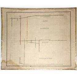 Shaft map of the Comstock