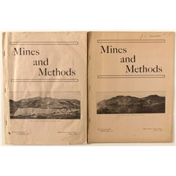 Two 1909/10 mining magazines
