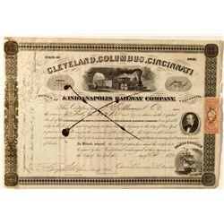 Cleveland, Columbus, Cincinnati & Indianapolis Railway Company.