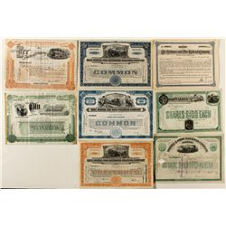 Railroad Variety Lot: Ohio with a little Gulf Coast
