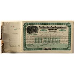 Southwestern Coal & Improvement Co. Stock Certificates