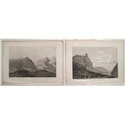Two Utah prints from the USRR Surveys.