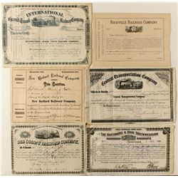 Railroad Variety Lot: 1800's