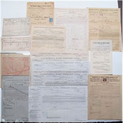 Various railroad documents