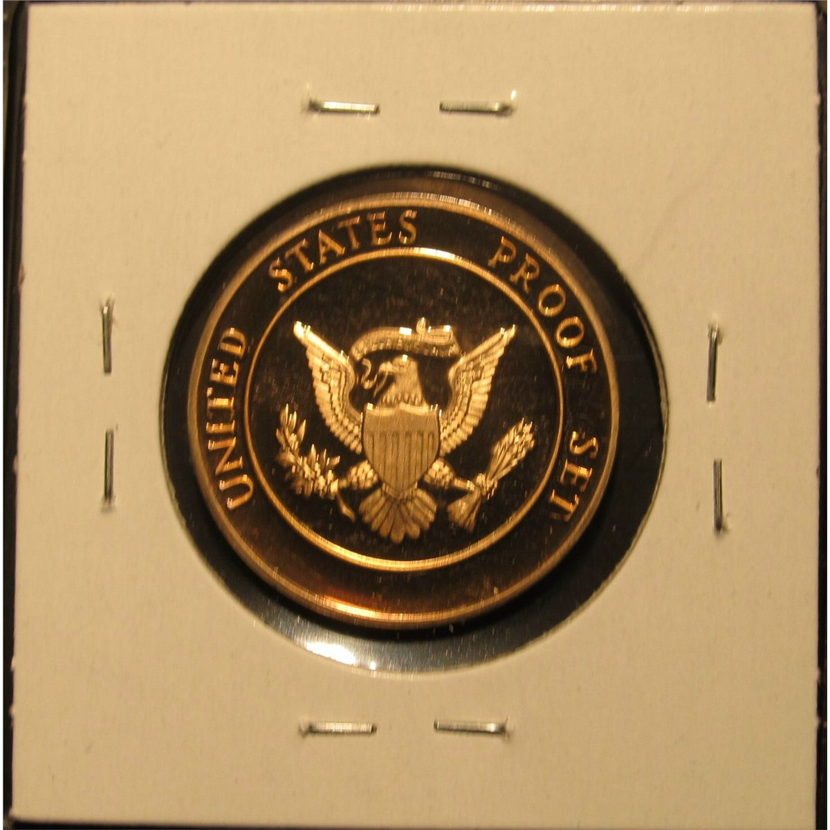 787  Proof Mint Medal From 1982 Proof Set – Same Weight & Diameter As An  SBA Dollar, Made To Fill Th