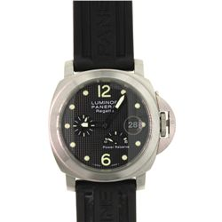 WATCH:  [1] Stainless steel gents Panerai Luminor Regatta Ocean Chronometer Power Reserve Automatic