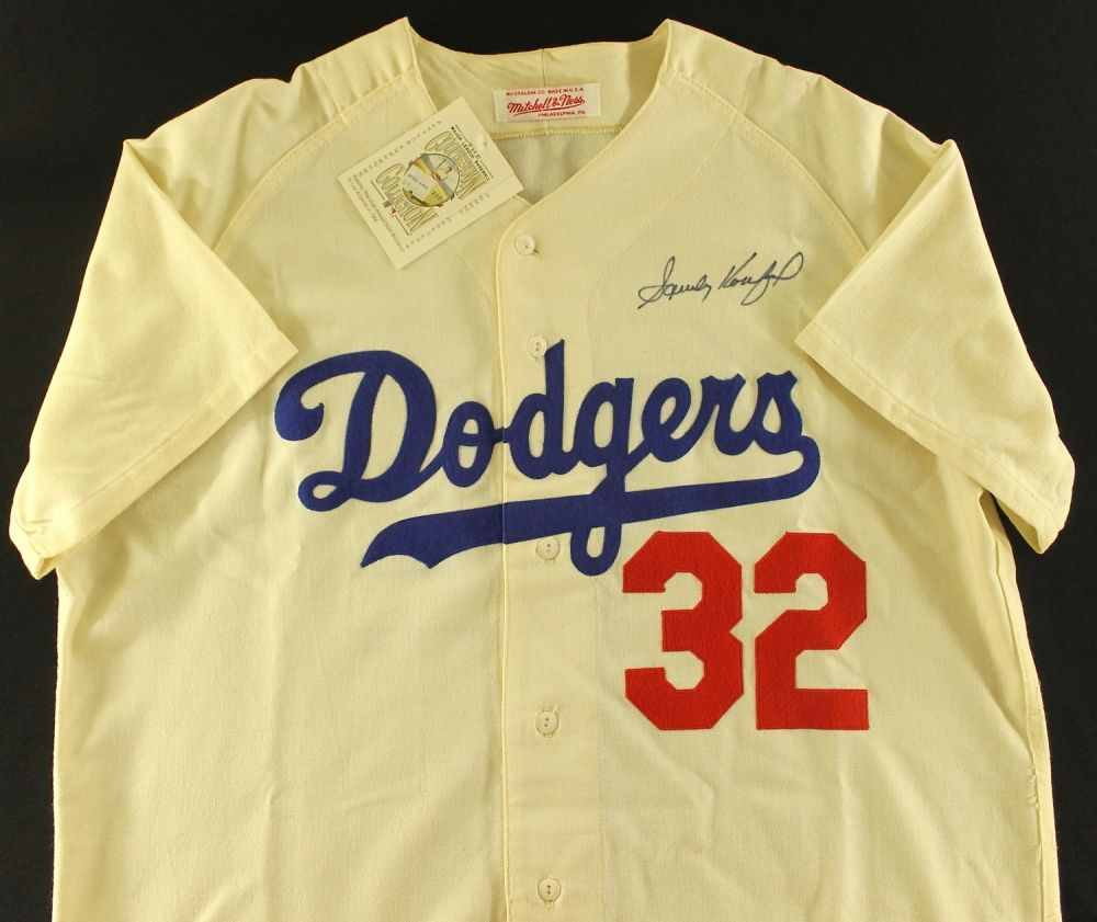 premium selection e0167 aa75b Sandy Koufax Signed Dodgers Authentic Mitchell & Ness ...