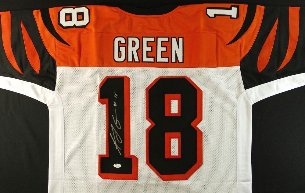 AJ Green Signed Bengals Jersey (JSA COA)