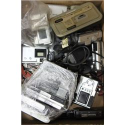 BOX OF ELECTRONICS