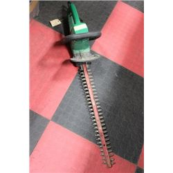 SUPER SMOOTH WEED EATER HEDGE TRIMMER