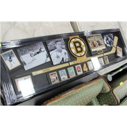 BOBBY ORR COLLECTION  AUTOGRAPHED STICK W/ C.O.A