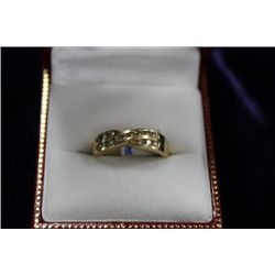 14 KT GOLD DIAMOND (0.30CT) RING