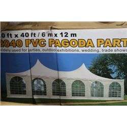 20' X 40' PVC PAGODA PARTY TENT