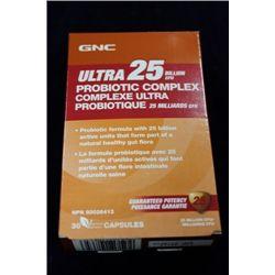 GNC ULTRA 25 PROBIOTIC COMPLEX (30 CAPSULES)