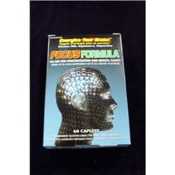 60 CAPLETS FOCUS FORMULA FOR CONCENTRATION AND