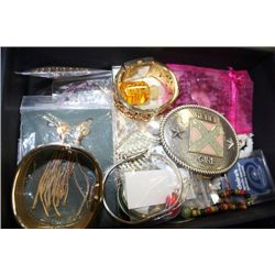 BOX OF MISC. JEWELRY