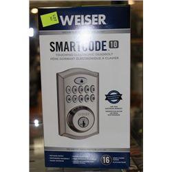 WEISER SMARTCODE 10 ELECTRONIC DEADBOLT