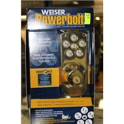 WEISER POWERBOLT TOUCHPAD ELECTRONIC