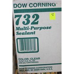 CASE OF DOW CORNING MULTI PURPOSE SEALNAT