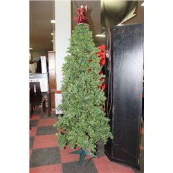 PRELIT 6' CHRISTMAS TREE W ANGEL