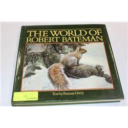 THE WORLD OF ROBERT BATEMAN ART BOOK