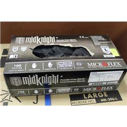 BOX W 100 MICROFLEX SIZE L POWDER FREE EXAMINATION