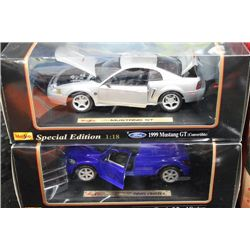 DIE-CAST 1:18 SCALE COLLECTOR CARS X2